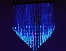 Fibre Optic chandelier - DEEP DOWN